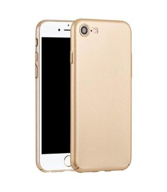 Hoco Hoco Rubber Coating Hardcase iPhone 7/8 - Goud
