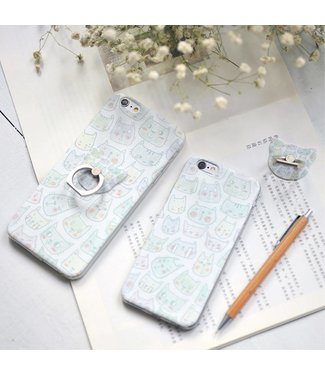 Maoxin Maoxin Seven TPU Softcase iPhone 6(s) - Kittens Transparant
