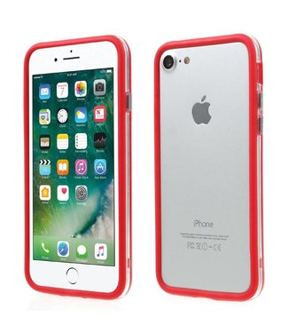 TPU Combo Bumper iPhone 7/8 - Rood