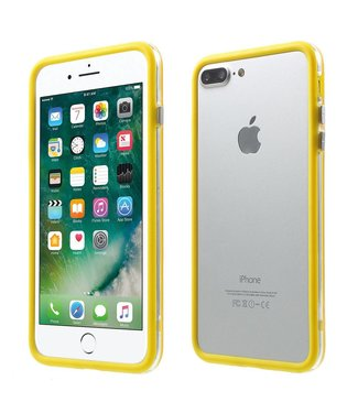 TVC TPU Combo Bumper iPhone 7/8 plus - Geel
