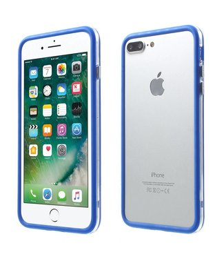 ZWC TPU Combo Bumper iPhone 7/8 plus - Blauw