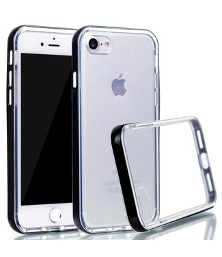 ZWC PC/TPU Backcase iPhone 7/8/SE 2020 - Zwart