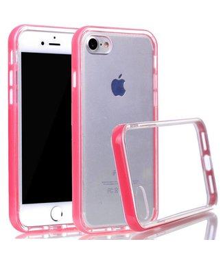 ZWC PC/TPU Backcase iPhone 7/8/SE 2020 - Roze