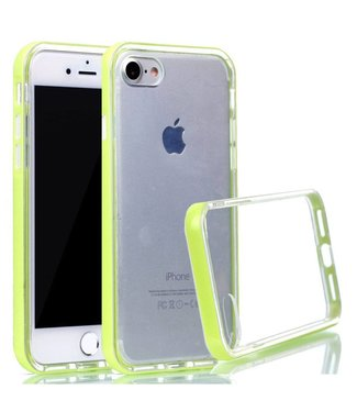ZWC PC/TPU Backcase iPhone 7/8/SE 2020 - Groen