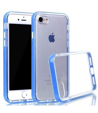 ZWC PC/TPU Backcase iPhone 7/8/SE 2020 - Blauw