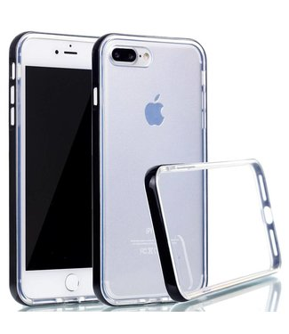 ZWC PC/TPU Backcase iPhone 7/8 plus - Zwart