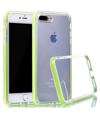 ZWC PC/TPU Backcase iPhone 7/8 plus - Groen