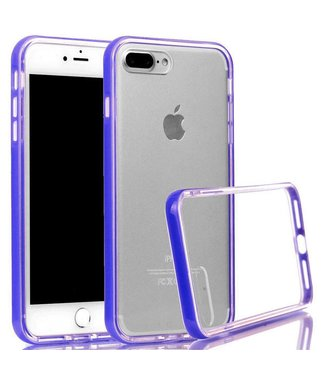 ZWC PC/TPU Backcase iPhone 7/8 plus - Paars