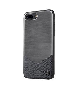 ZWC Nillkin Aluminium/PC Hardcase iPhone 7/8 plus - Antraciet Grijs
