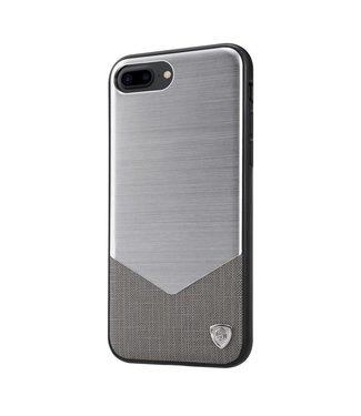 ZWC Nillkin Aluminium/PC Hardcase iPhone 7/8 plus - Zilver Grijs