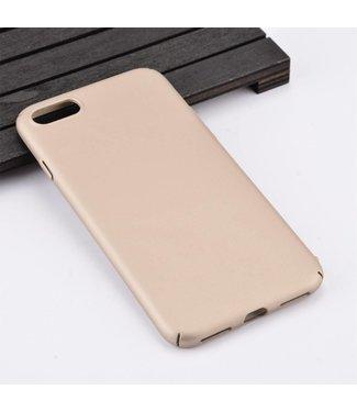 ZWC Rubber Coating Hardcase iPhone 7/8 plus - Goud