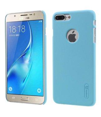 ZWC Rubber Coating Hardcase Basic iPhone 7/8 plus - Baby Blauw