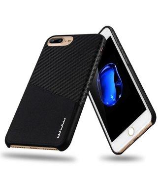JLW JLW Carbon Pashouder Hardcase iPhone 7/8 plus - Zwart