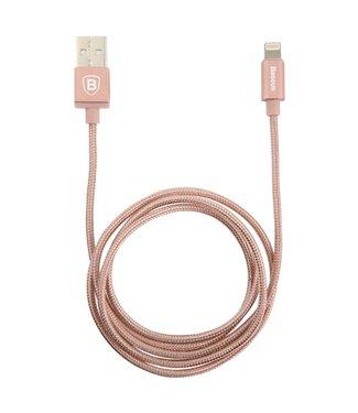 Baseus MFI 8-pin Lightning Oplaadkabel 1m - Rosé-Goud - Baseus