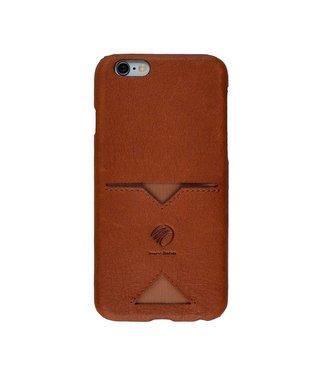Imoshion Imoshion Leren Backcase 1 Pashouder iPhone 6(s) - Bruin