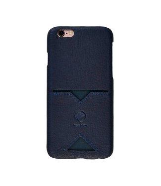 Imoshion Imoshion Leren Backcase 1 Pashouder iPhone 6(s) - Blauw