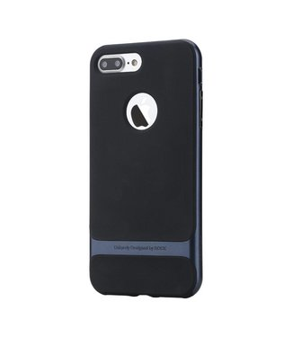 Rock Rock Royce TPU/Rubber Cover iPhone 7/8 plus - Navy Blauw
