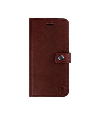 Imoshion Imoshion 2-in-1 Leren Magnetische Wallet iPhone 7/8 - Bruin / Rood