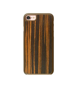 Imoshion Imoshion Houtprint Ultra Thin Hardcase iPhone 7/8/SE 2020 - Bog Oak