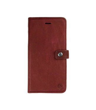 Imoshion Imoshion 2-in-1 Leren Magnetische Wallet iPhone 7/8 Plus - Rood / Bruin