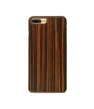 Imoshion Imoshion Houtprint Ultra Thin Hardcase iPhone 7/8 Plus - Bog Oak