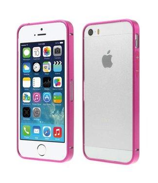 ZWC Aluminium Bumper Ultra Thin iPhone 5(s)/SE - Roze