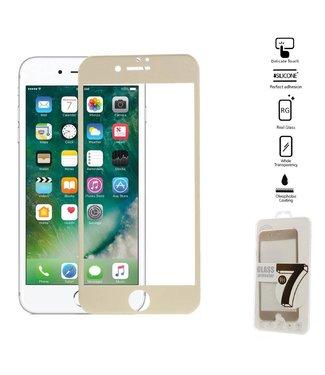 ZWC Seven iPhone 6(s)/7/8 Edge To Edge Gehard Glas Screenprotector - Goud