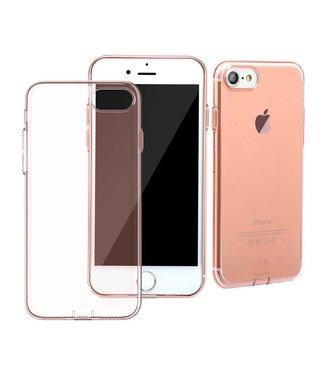 Baseus Baseus Dustplug TPU Softcase iPhone 7/8 - Rosé Goud