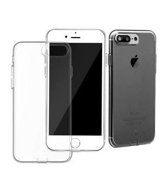 Baseus Dustplug TPU Softcase iPhone 7/8 plus - Zwart
