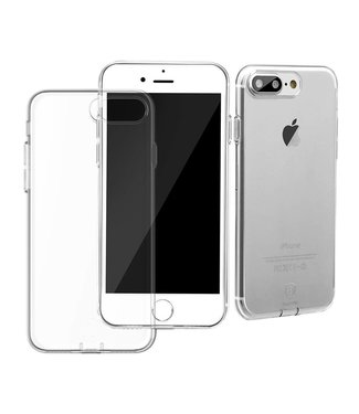 Baseus Dustplug TPU Softcase iPhone 7/8 plus - Transparant