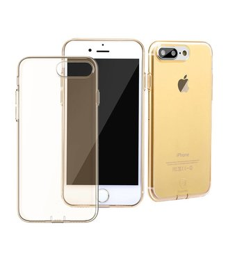 Baseus Baseus Dustplug TPU Softcase iPhone 7/8 plus - Goud
