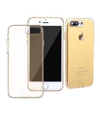 Baseus Dustplug TPU Softcase iPhone 7/8 plus - Goud
