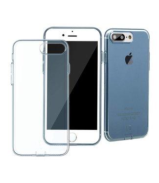 Baseus Dustplug TPU Softcase iPhone 7/8 plus - Blauw