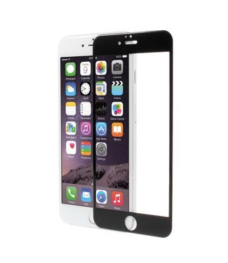PDGD Screenprotector PDGD iPhone 6/6s Full Size gehard glas 3D gebogen scherm - Zwart