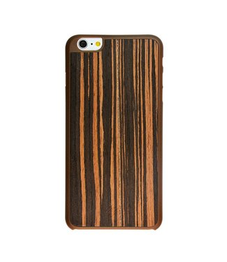 Imoshion Imoshion Houtprint Ultra Thin Hardcase iPhone 6 Plus - Bog Oak