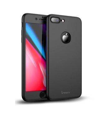 iPaky iPaky Hardcase + Screenprotector iPhone 7/8 plus - Zwart