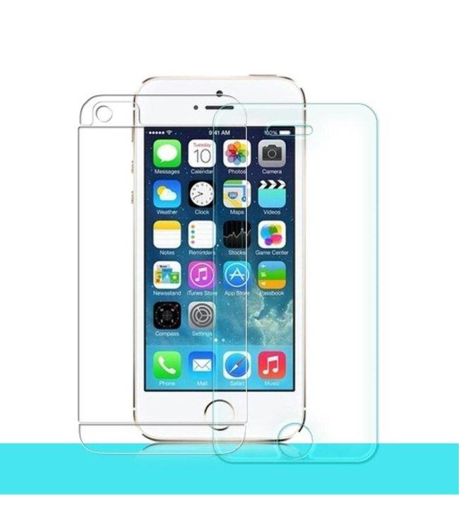 Nillkin Nillkin iPhone 5(s)/5c, SE 0.3mm 9H Gehard Glas Screenprotector + Achterzijde Folie