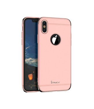 iPaky iPaky 3-in-1 Hardcase iPhone X - Rosé Goud