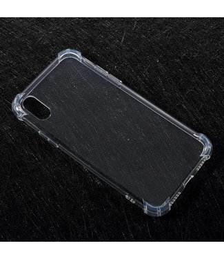 Anti-shock TPU Softcase iPhone X - Transparant
