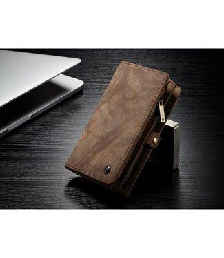 Caseme Luxe Leren Wallet iPhone X / iPhone XS - Bruin - Caseme