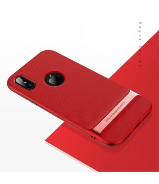 Rock Rock Royce TPU/PC Cover iPhone X - Rood