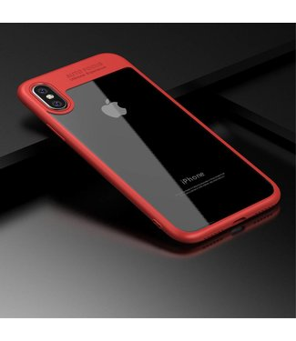 iPaky iPaky TPU/PC Backcase iPhone X - Rood