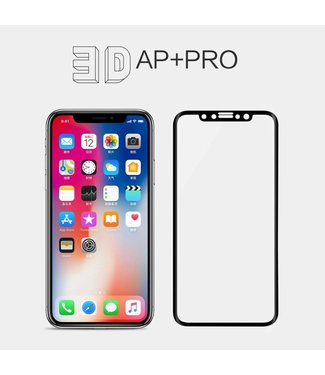 Nillkin Nillkin iPhone X 0.1mm Edge to Edge 3D Curve Screenprotector