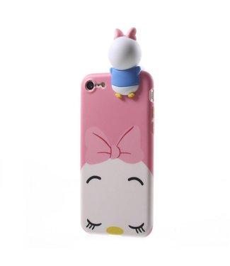 ZWC Cute TPU Softcase iPhone 7/8/SE 2020 - Vrouwelijke Eend