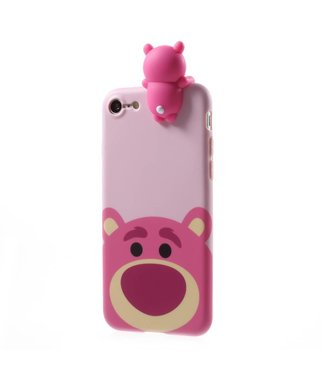 Cute TPU Softcase iPhone 7/8 - Beer Roze
