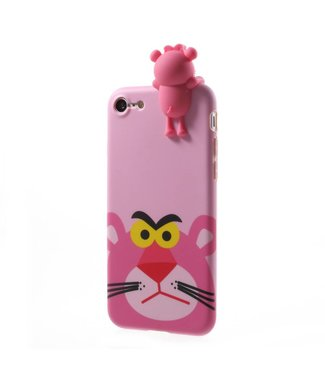 ZWC Cute TPU Softcase iPhone 7/8 - Roze Panter