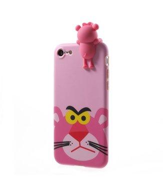 ZWC Cute TPU Softcase iPhone 7/8/SE 2020 - Roze Panter