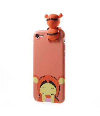 ZWC Cute TPU Softcase iPhone 7/8/SE 2020 - Tijger