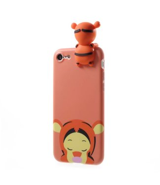 ZWC Cute TPU Softcase iPhone 7/8 - Tijger