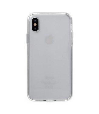 Aluminium/TPU Backcase iPhone X - Zilver